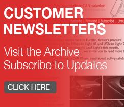 Kvaser Customer Newsletter