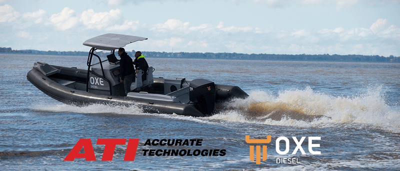 ATI's Tools Build World's First High Performance Diesel Marine Outboard Engine