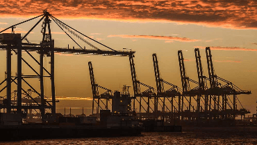 Kvaser's Ethercan provides secure link for container port crane CAN monitoring