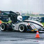 Tongji DIAN Racing, from Tongji University, ranked 4th in Formula Student China 2017 electric racing teams 1