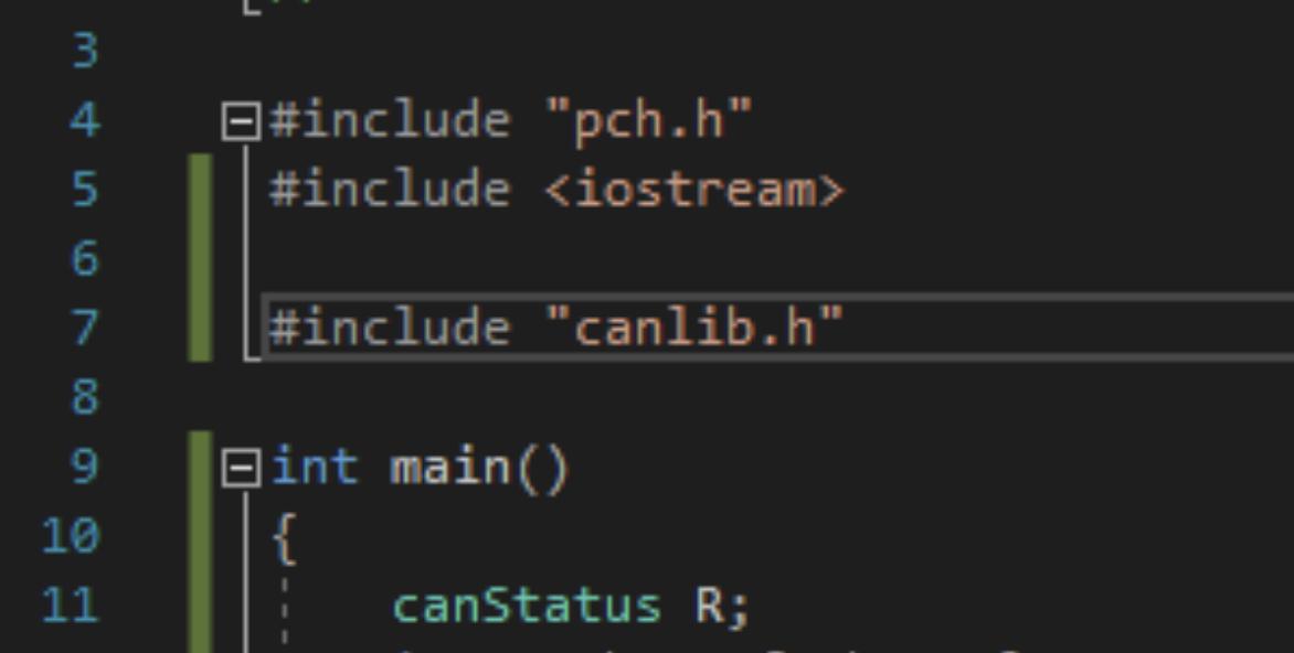 Using CANlib Visual Studio 2017 C++ - Kvaser