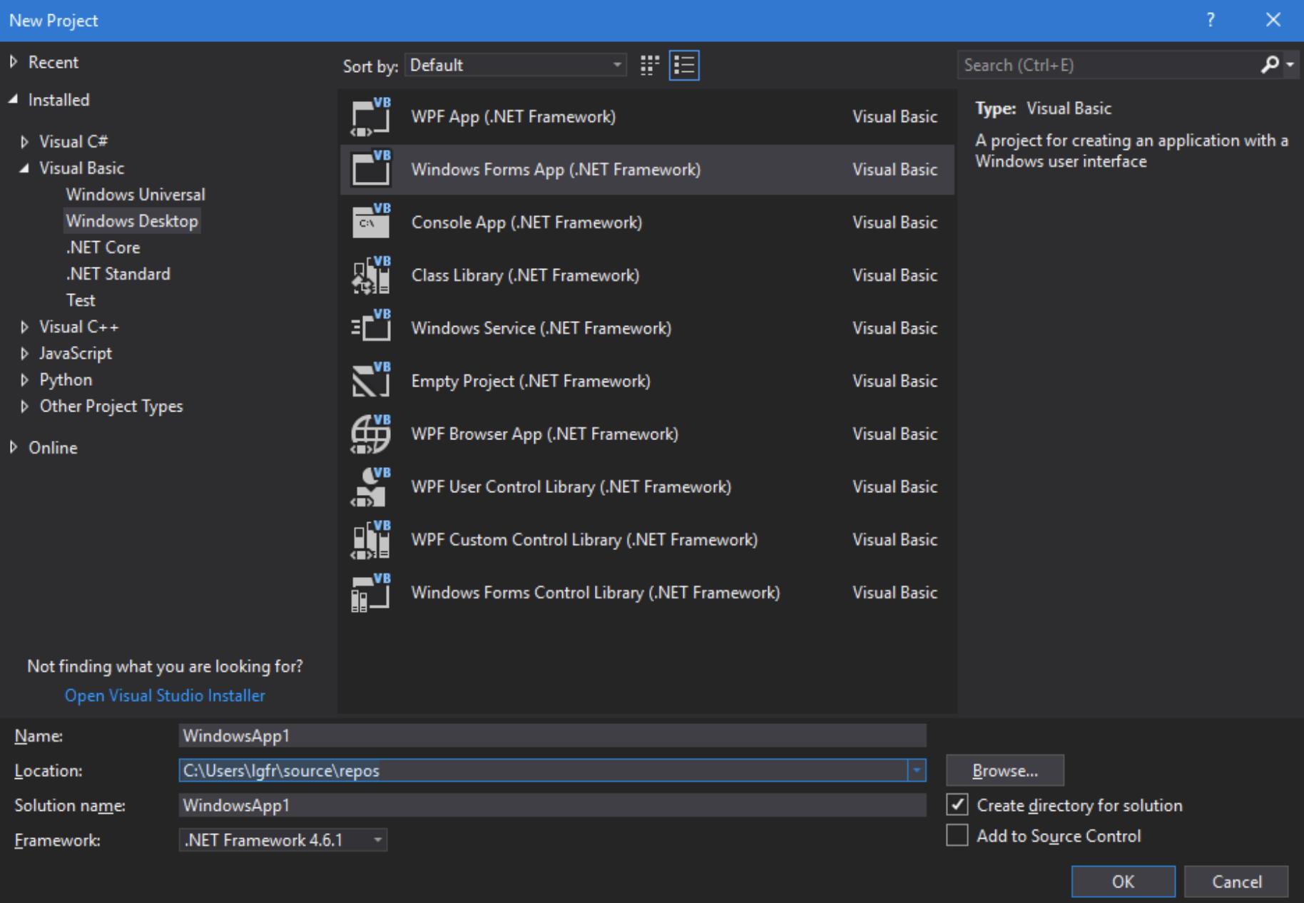 Using CANlib Visual Studio 2017 VB - Kvaser
