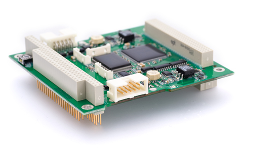 Off-the-shelf version of Kvaser's 2-channel CAN interface for PCI104+