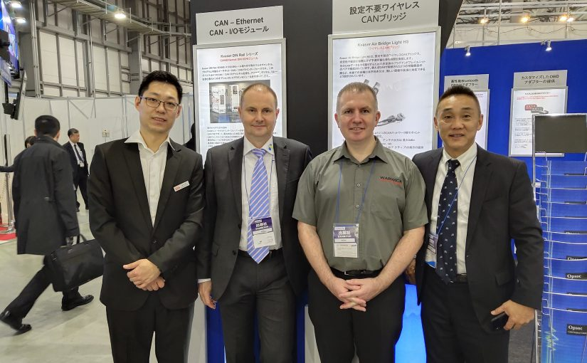 Japanese show highlights 'total solution' value of Kvaser's partner network