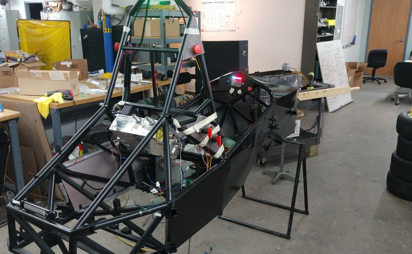 FSAE Electric Racecar Team discovers the value of CAN