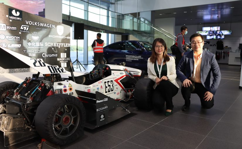 Chinese Formula Student Electric Team competes with Kvaser