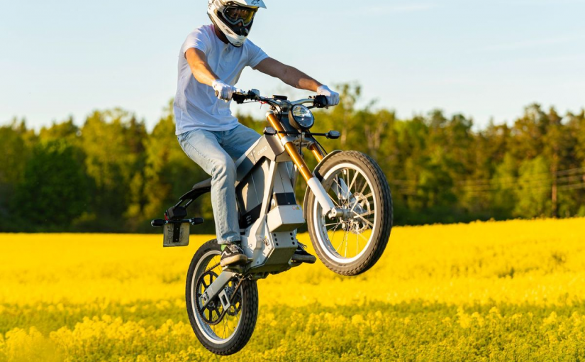 CAKE: a dirt bike with a difference