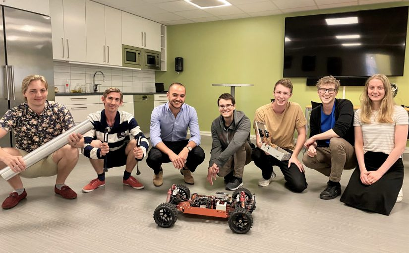 Kvaser welcomes Chalmers students for the summer