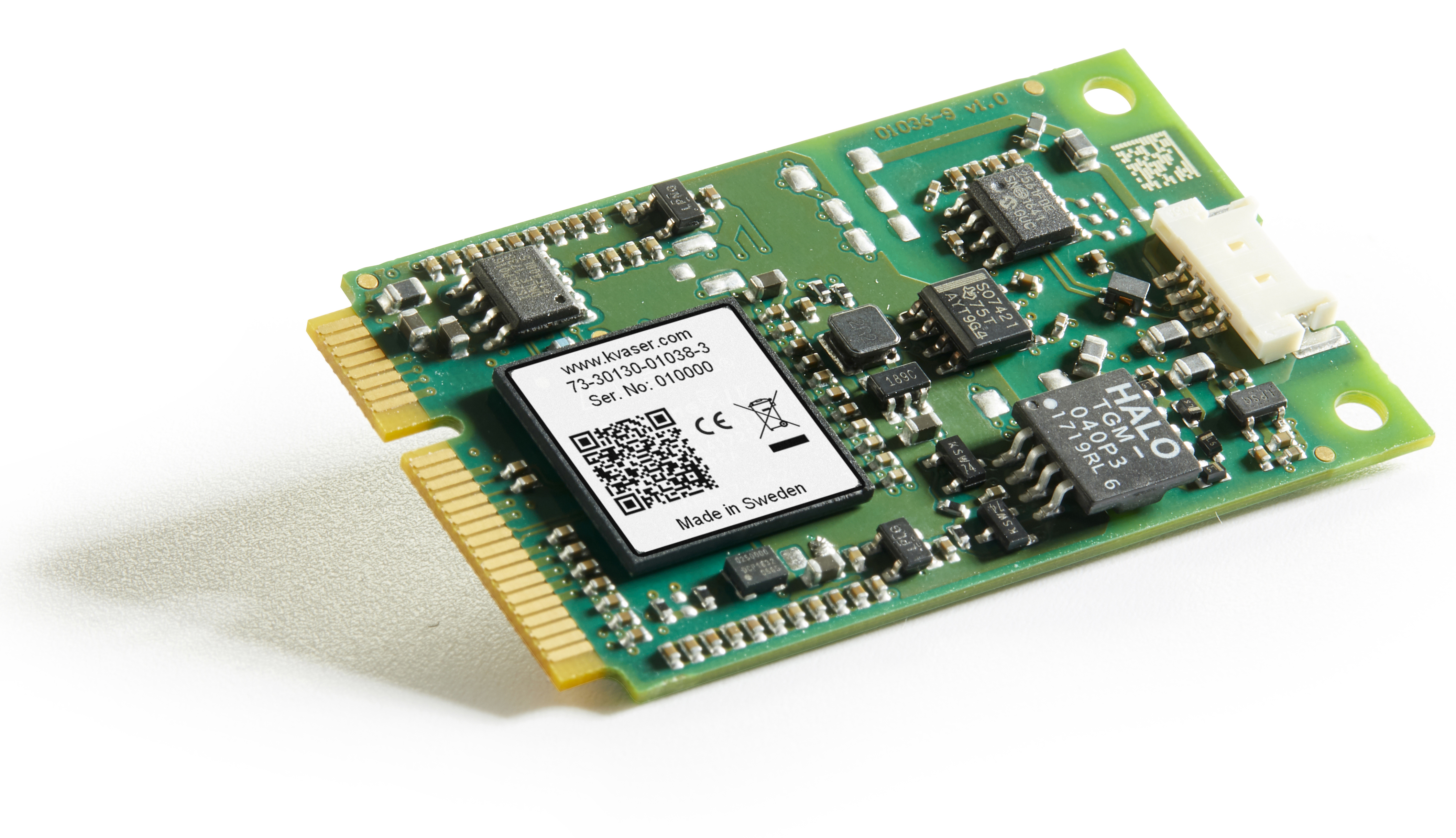 Kvaser Mini PCI Express HS v2 - Kvaser - Advanced CAN Solutions